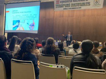 Ponencia en el III Congreso de Terapias Naturales organizado por APROETENA
