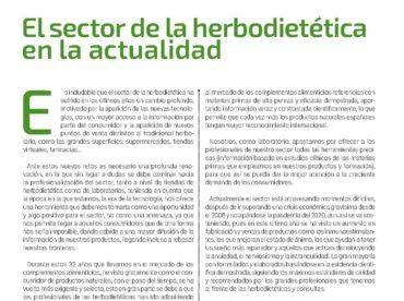 Artículo de opinión en la revista Mi Herbolario